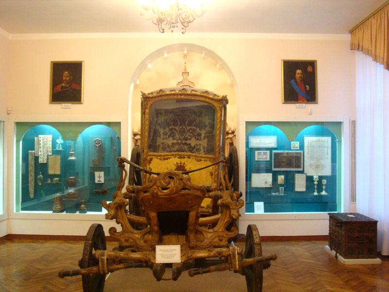 Карета 18 века