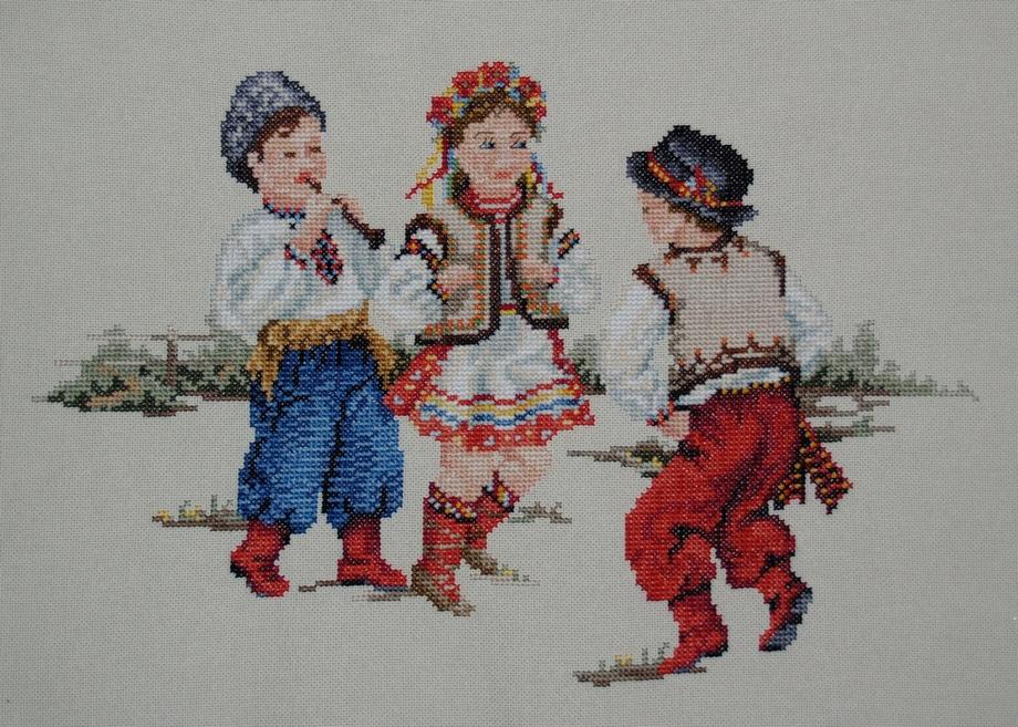 Картина-вышиванка