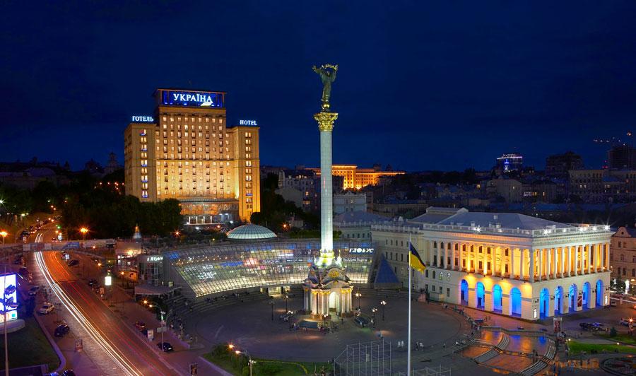 Гостиница Украина на месте небоскреба
