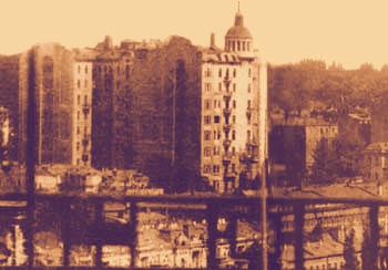 Вид на здание издалека