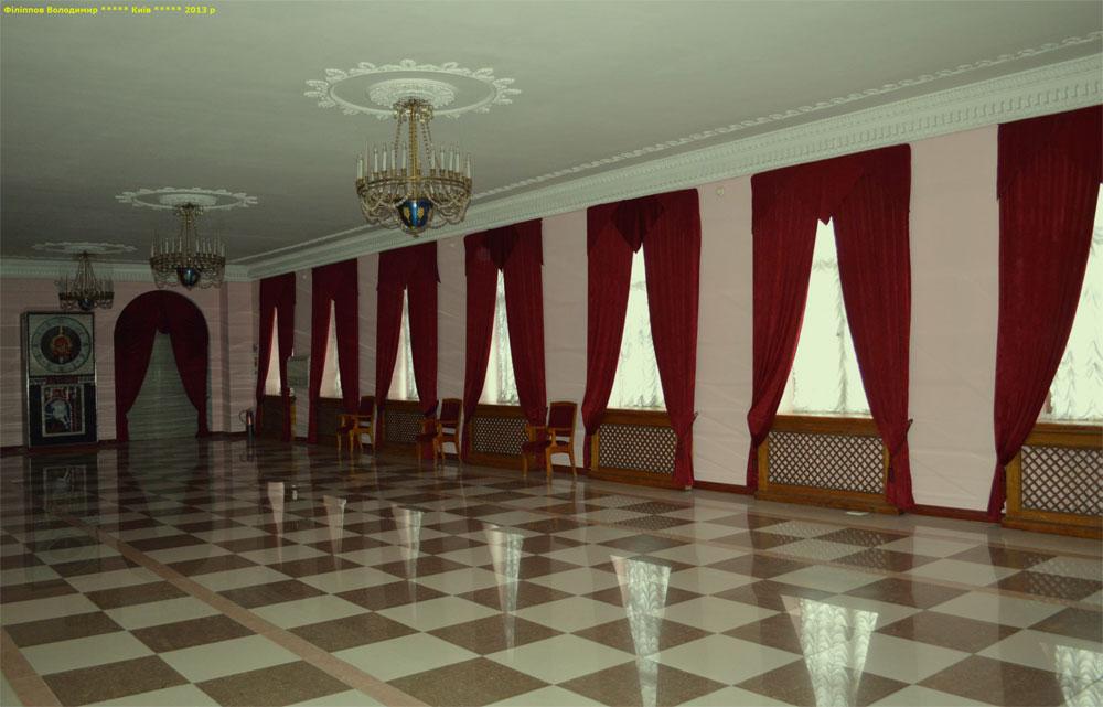 Октябрьский дворец внутри