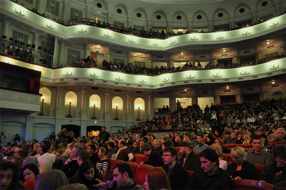 Концертный зал Октябрьского дворца