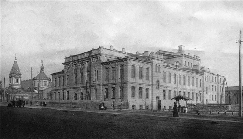Троицкий народный дом в начале 20 столетия