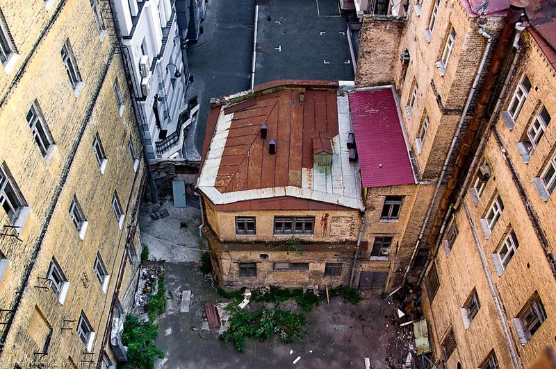 Вид с крыши гостиницы