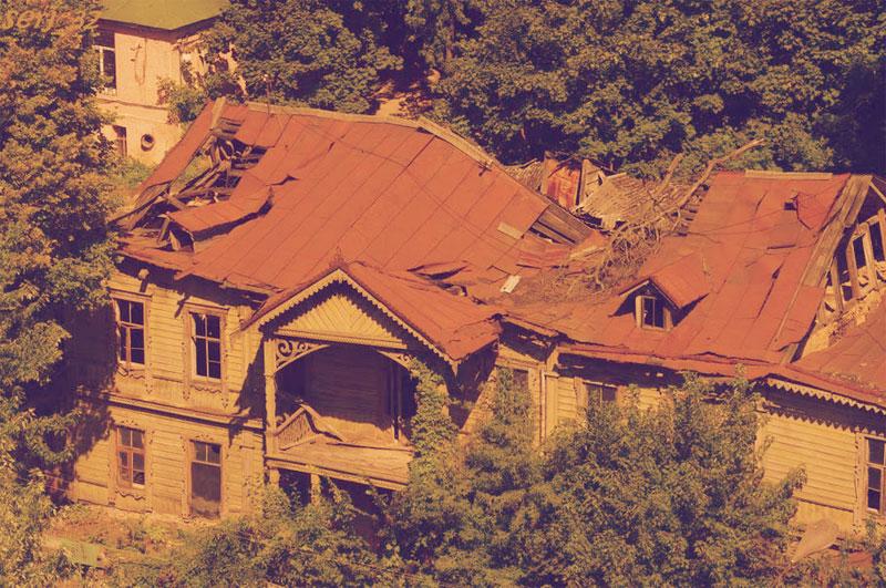 Дом Кристера до сноса