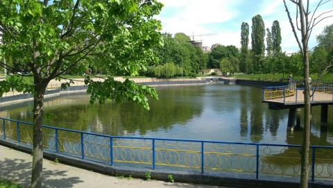 Парки Киева: парк Орленок