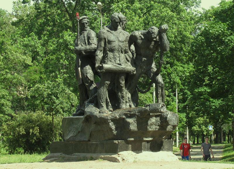 Памятник экипажу бронепоезда