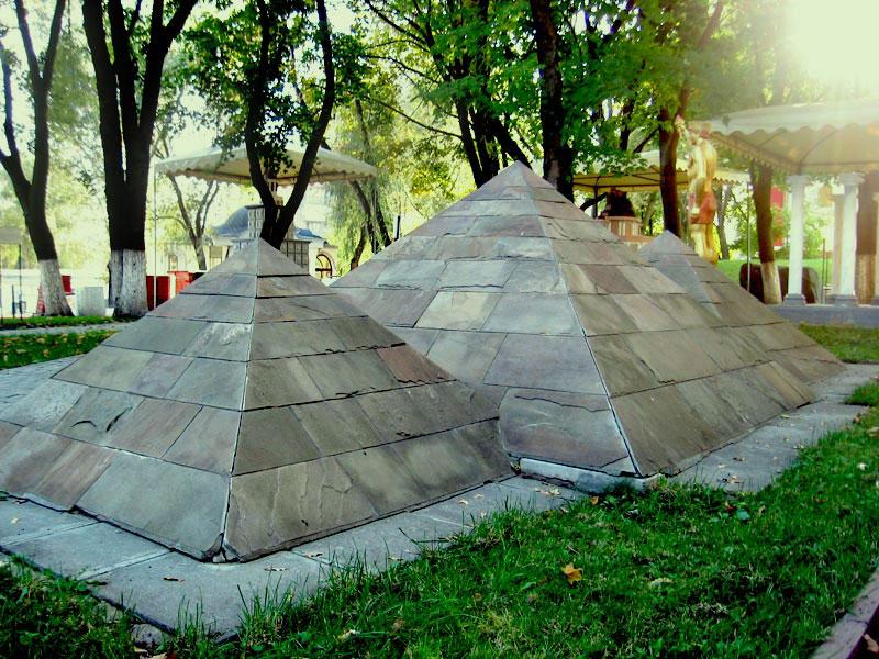 Пирамида, 7 чудес света