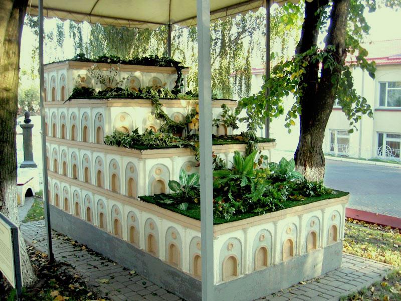 Висячие сады, 7 чудес света