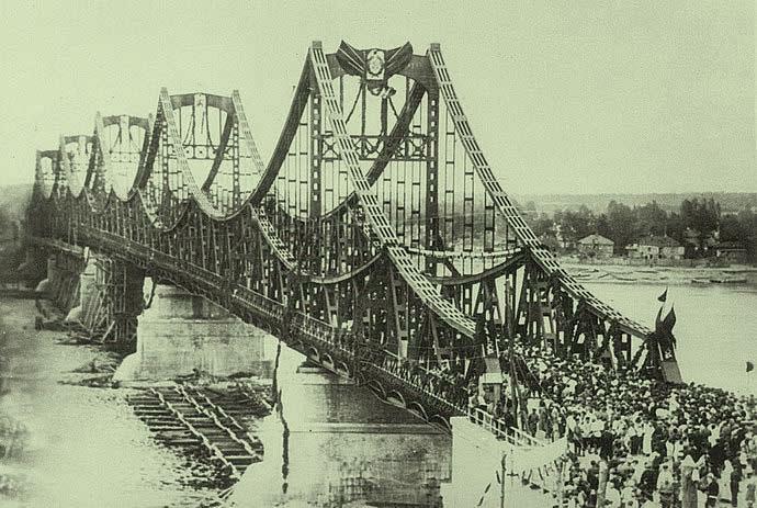 Открытие моста Евгении Бош