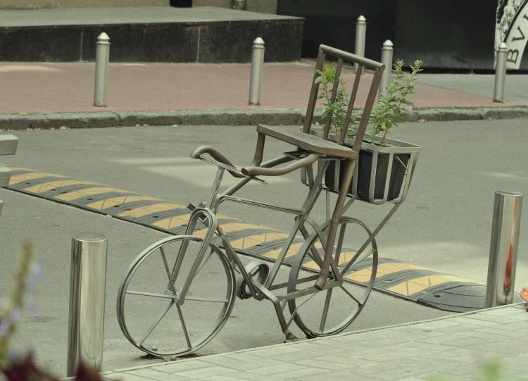 """Скульптура """"Велосипед"""""""