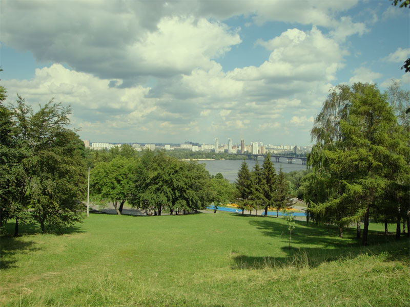 Полянка в парке