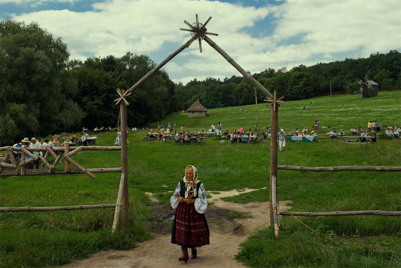 Бабушка обычная, украинская