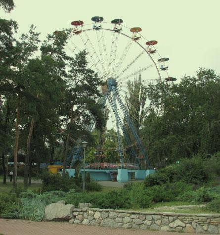 Колесо обозрения в парке Победы