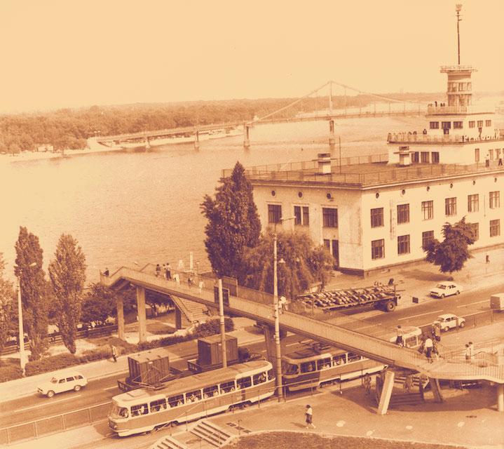 Речной вокзал после постройки