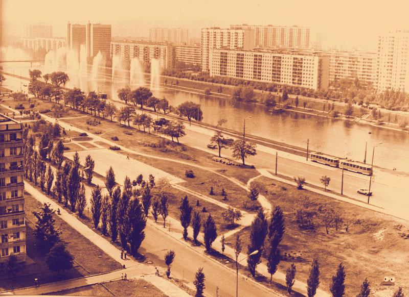 Русановка в 1970 году