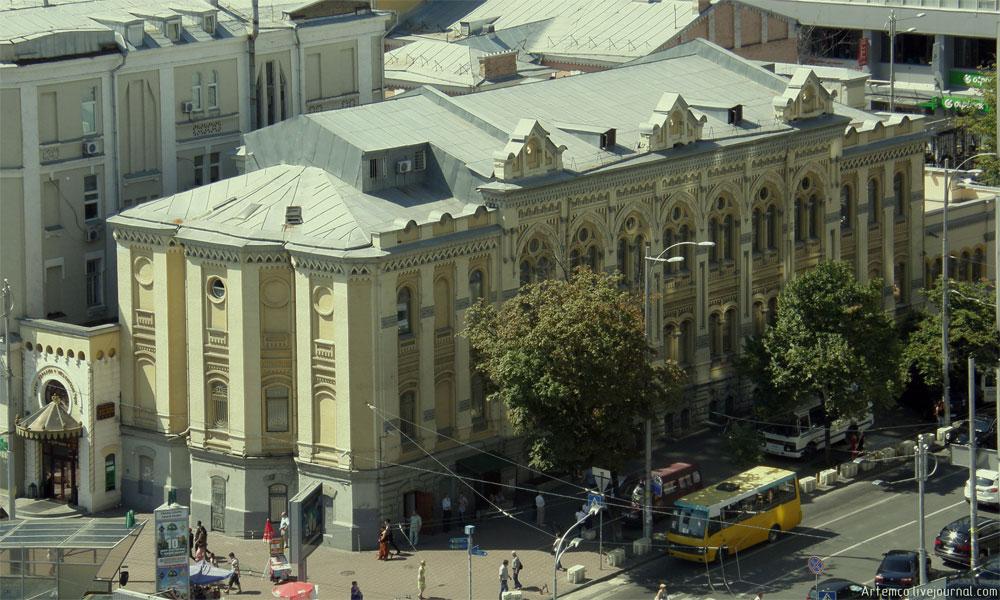 Синагога Бродского вид с тыльной стороны здания