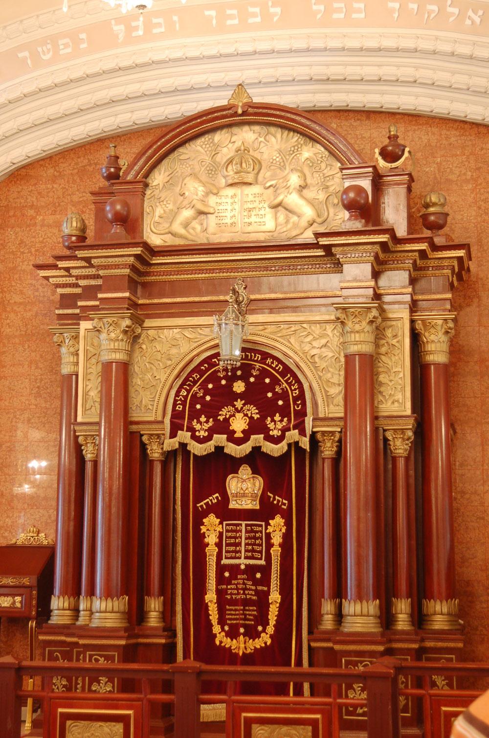 Синагога Бродского внутри
