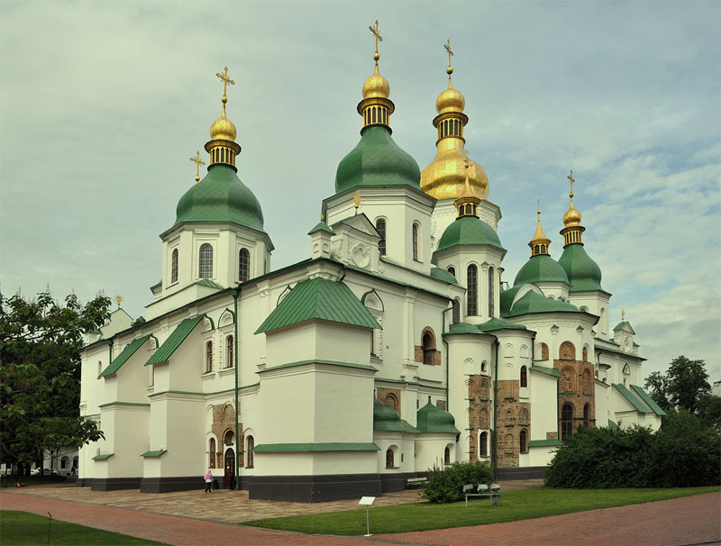 Софиевский собор днем