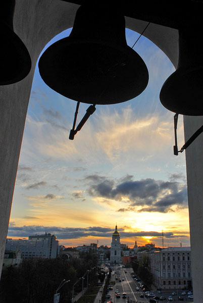 Закат с колокольни