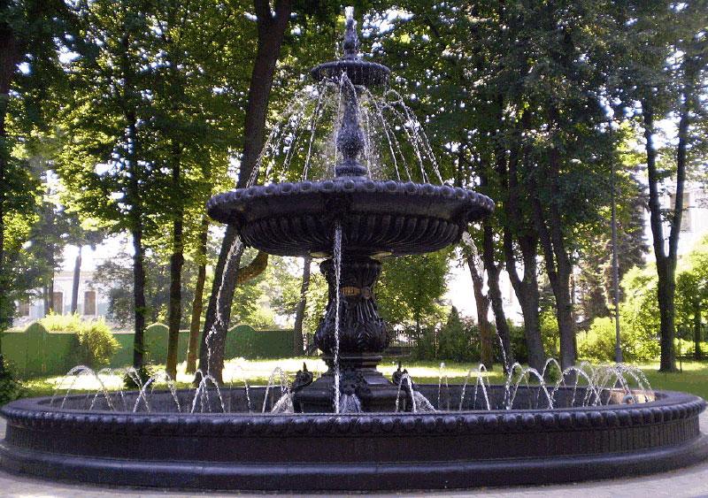 Терменовский фонтан в Городском саду