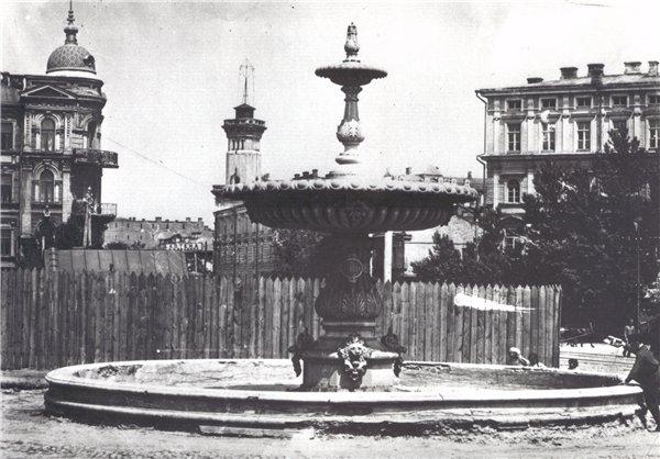 Терменовский фонтан на Софийской площади