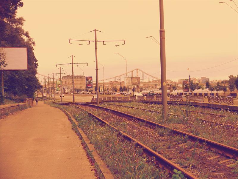 Вид на Речной вокзал