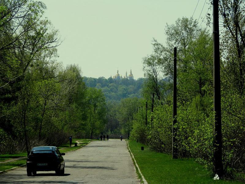 Вид на правый берег Киева