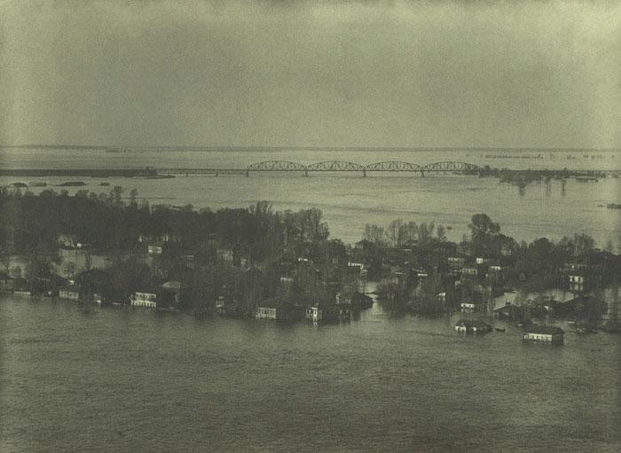 Труханов, наводнение в 1930-х