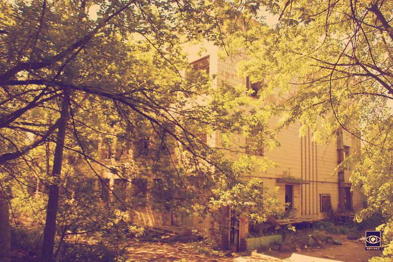 Здание лаборатории
