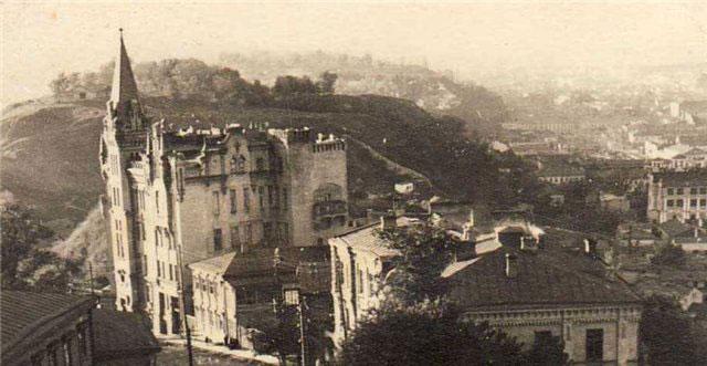 Замок Ричарда в 1941 году