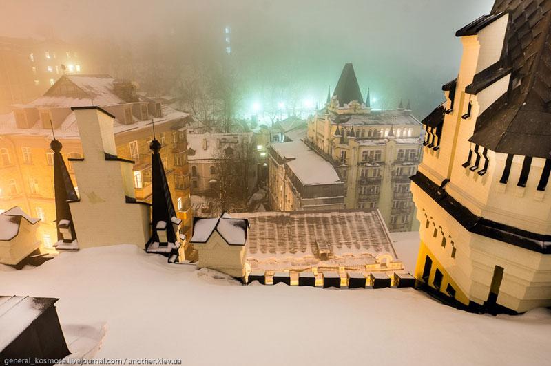 Замок Ричарда - вид с крыши
