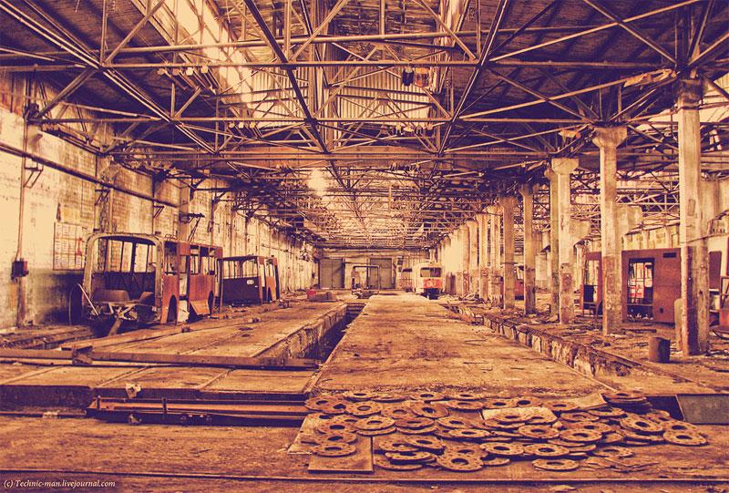Главный цех завода