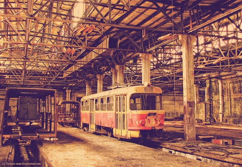 Трамвай не дождется ремонта