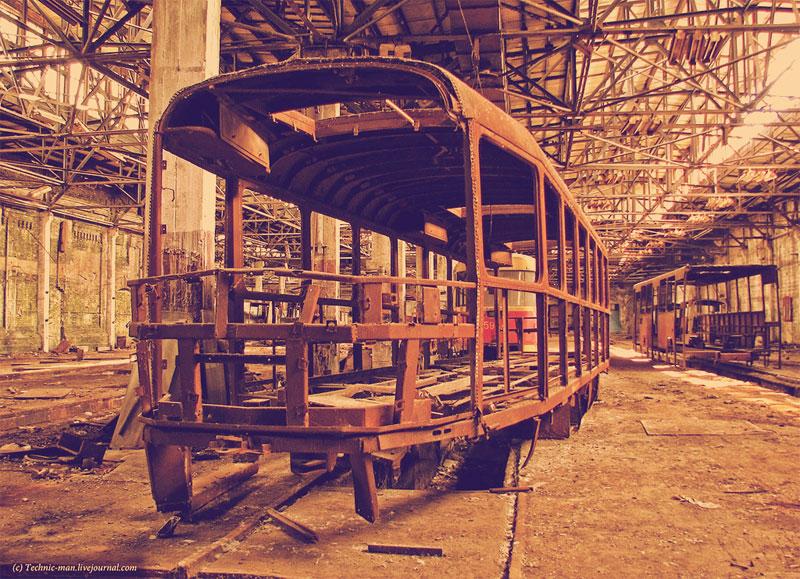 Капремонт кузова трамвая