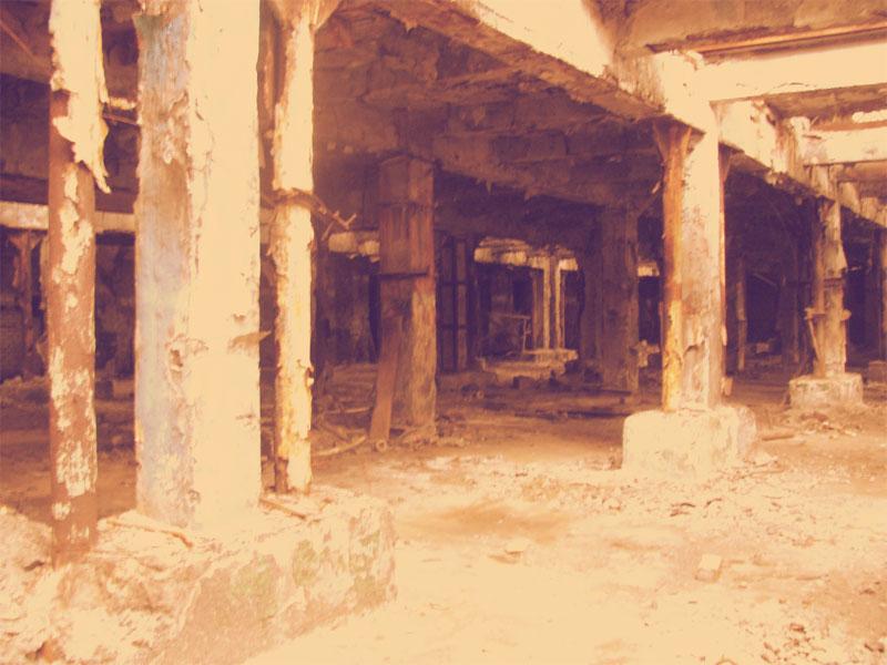 Первый этаж и подвальные помещения