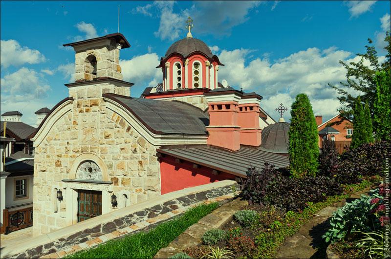 Церковь во имя Собора преподобных отцов Зверинецких
